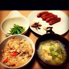 佐久田瑠美 公式ブログ/和(^ω^)食 画像1