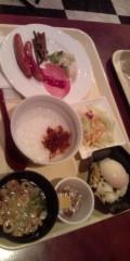 佐久田瑠美 公式ブログ/朝食(・∀・) 画像1