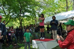 谷川真理 公式ブログ/森・川・鹿の!?千歳JAL国際マラソン 画像2
