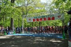 谷川真理 公式ブログ/森・川・鹿の!?千歳JAL国際マラソン 画像3