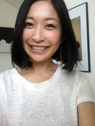 小野真弓さんの自撮り