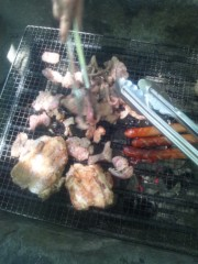 伊藤恵輔 公式ブログ/屋外肉祭にて。�濵 画像1