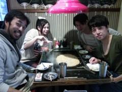 枝川吉範 公式ブログ/Genkivox#84「Mc枝川吉範」ともんじゃ焼き 画像1