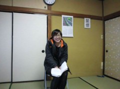 枝川吉範 公式ブログ/椅子の上の彼女 画像2