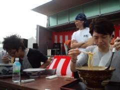 枝川吉範 公式ブログ/どんぶり祭り〜早食い大会出場 画像1
