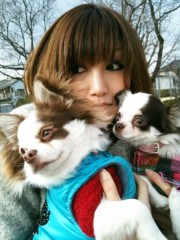 佐藤明日香 公式ブログ/がんばって一緒に撮ったの☆ 画像3