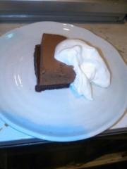 越田みゆ 公式ブログ/チョコケーキ 画像1