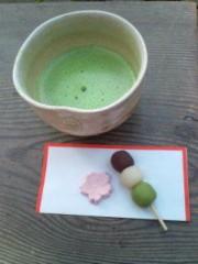 越田みゆ 公式ブログ/お花見。 画像2