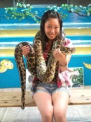 越田みゆ 公式ブログ/蛇・鍾乳洞。 画像2