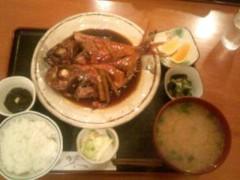 越田みゆ 公式ブログ/金目鯛。 画像1