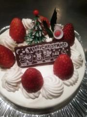 越田みゆ 公式ブログ/クリスマスケーキ♪ 画像1