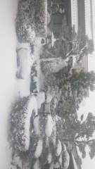 浅居円 公式ブログ/滋賀は雪です 画像1