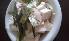 稲富菜穂 公式ブログ/お昼につくったやーつ。 画像1
