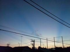 M.Rosemary 公式ブログ/明け方の空にあらわれる光 1 画像1