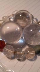 M.Rosemary 公式ブログ/水晶を見ていたら… 画像1