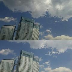 M.Rosemary 公式ブログ/お空に上るとき、わんこ雲、にゃんこ雲が出る            画像1