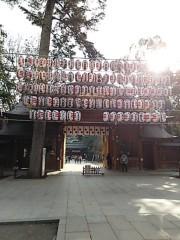 M.Rosemary 公式ブログ/大國魂神社、パワーのピンスポット 画像1