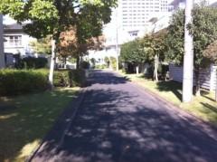 鬼塚忠 公式ブログ/車の来ない道路。 画像1