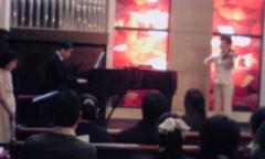 鬼塚忠 公式ブログ/発表会で伴奏。 画像1