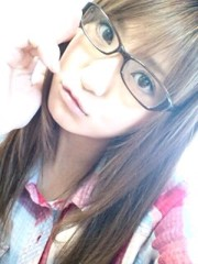 新生かな子 公式ブログ/メガネちゃん 画像1