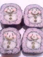 新生かな子 公式ブログ/飾り巻き寿司 画像1