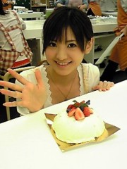 新生かな子 公式ブログ/クリスマスケーキ 画像2