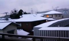 新生かな子 公式ブログ/雪景色.*゜ 画像1