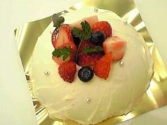 新生かな子 公式ブログ/クリスマスケーキ 画像3