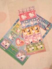 新生かな子 公式ブログ/切手 画像2