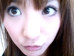 新生かな子 公式ブログ/たれ目メイク研究中・・・ 画像1
