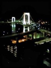 下村奈緒子 公式ブログ/レインボーブリッジの夜景♡ 画像1