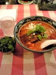 下村奈緒子 公式ブログ/銀座ティーヌンのトムヤムラーメン+盛り盛りパクチー! 画像1