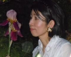 石川恵深 公式ブログ/お庭のアヤメを見て(*^_^*) 画像1