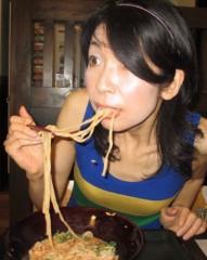 石川恵深 公式ブログ/冷やし坦々うどん(なか卯) 画像2