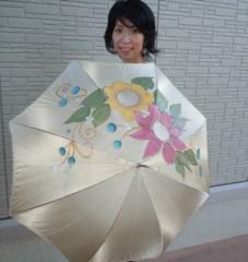 石川恵深 公式ブログ/エミ手描き日傘&乙女モード(*^_^*) 画像1