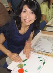 石川恵深 公式ブログ/大和ハウスオーナーレディース会☆グラスアート 画像1