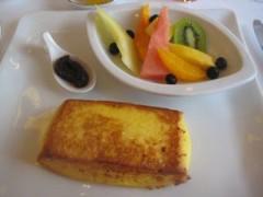 石川恵深 公式ブログ/ホテルオークラ東京☆フレンチトースト☆ 画像2