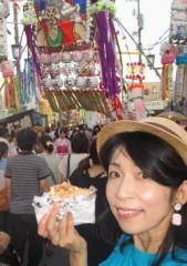 石川恵深 公式ブログ/たまごせんべい(安城七夕まつり) 画像1