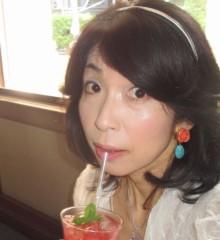 石川恵深 公式ブログ/アイスローズティー 画像2