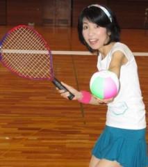 石川恵深 公式ブログ/初!ミニテニス 画像3