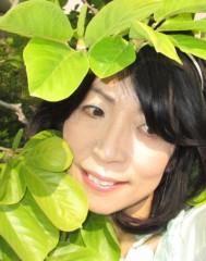 石川恵深 公式ブログ/お庭の新緑で… 画像1