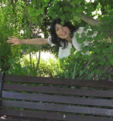 石川恵深 公式ブログ/ベンチで… 画像3