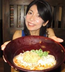 石川恵深 公式ブログ/冷やし坦々うどん(なか卯) 画像1