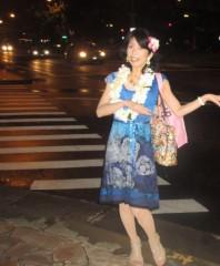 石川恵深 公式ブログ/ハワイは昼も夜も虹? 画像2