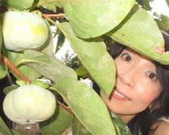 石川恵深 公式ブログ/おはよ〜♪ 柿 画像1