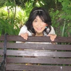 石川恵深 公式ブログ/ベンチで… 画像2