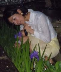 石川恵深 公式ブログ/お庭のアヤメを見て(*^_^*) 画像2