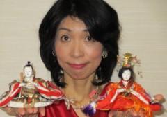 石川恵深 公式ブログ/恵深チャンちのお雛様 & いが饅頭 画像1