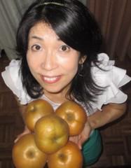 石川恵深 公式ブログ/安城梨 画像2