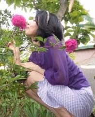 石川恵深 公式ブログ/お庭の牡丹を見て(*^_^*) 画像1